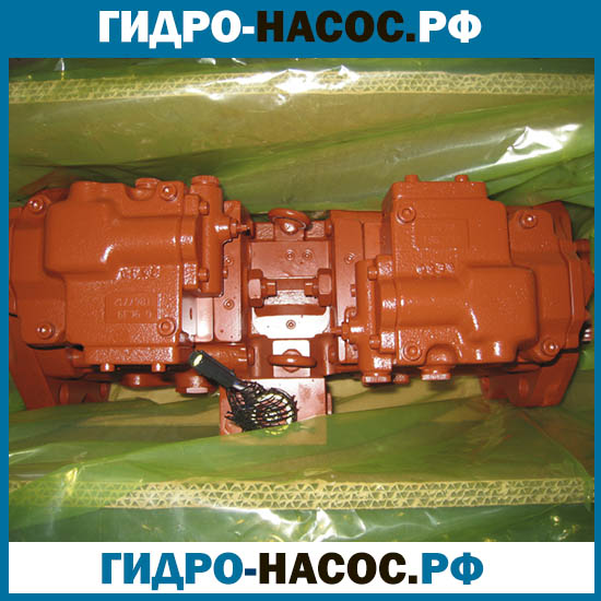 Гидравлический насос на HYUNDAI, KAWASAKI R320LC-7,R450LC-7A. (Хендай)