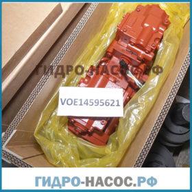 K3V112DT (14595621) - Насос на VOLVO, KAWASAKI EC210BLC.  Гидронасос на экскаватор