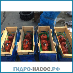 31NA-10010 - Насос на HYUNDAI R360LC-7. (Хендай)