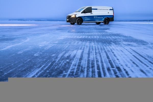 Электрические фургоны от Mercedes-Benz Vans прошли испытания холодом
