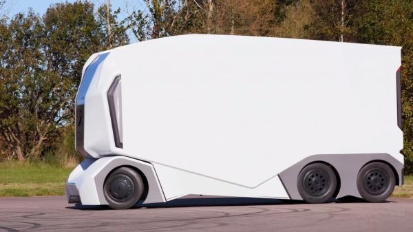 einride-t-pod-300318/беспилотные электрические грузовики