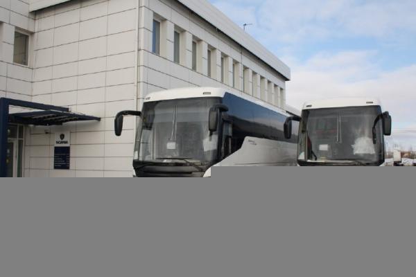 Scania поставила автобусы Touring для «Совавто-С.Петербург»