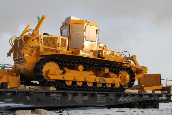 Челябинский тракторный завод отгрузил эксклюзивный бульдозер в Армению —