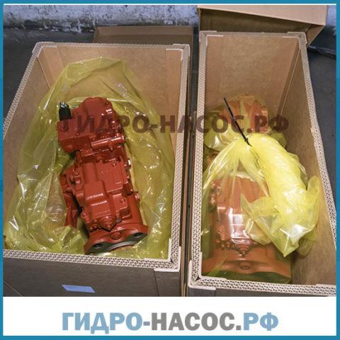 Гидравлический насос на Хендай R160LC-7. (Hyundai)