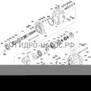Запчасти насоса Hyundai HX160L