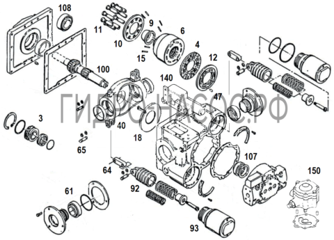 Eaton Vickers 3320