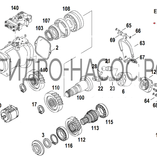 Hitachi HPV145