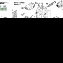 Запчасти Kawasaki K3V280DT