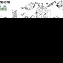 Запчасти Kawasaki K5V200DT